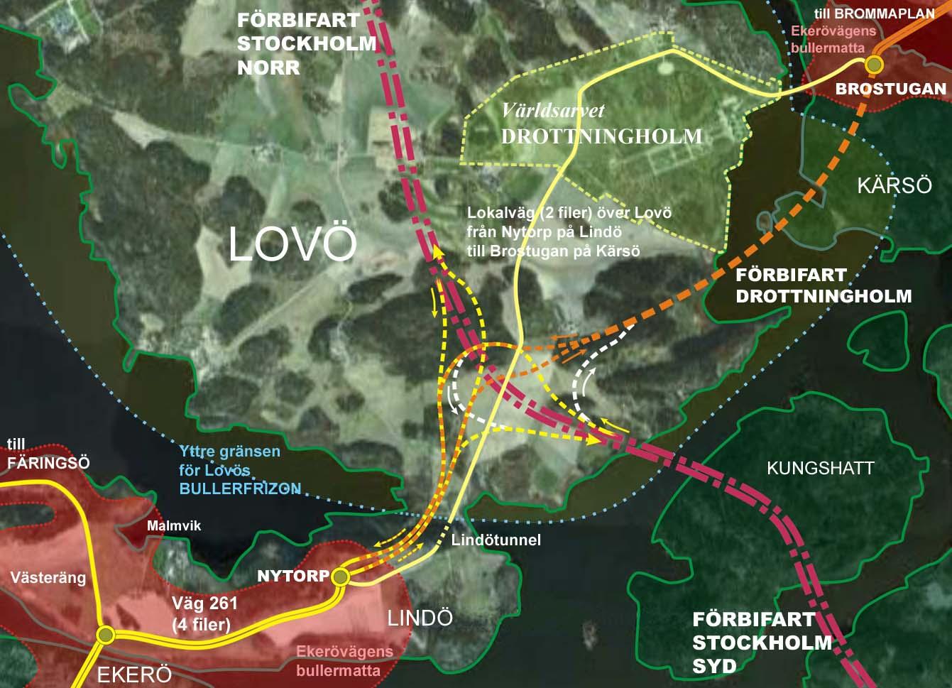 Förbifart stockholm karta