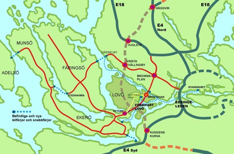 Forbifart Stockholm Ekero Karta Karta 2020